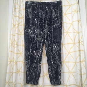 MOSSIMO Celestial Abstract Geometric Jogger Pants